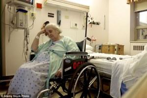 sickly older woman